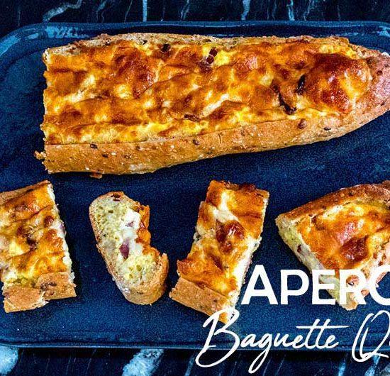 recette baguette quiche