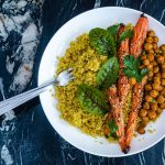 plat healthy libanais