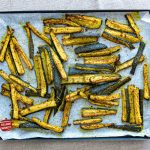 recette frites de courgette