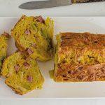 recette cake aux poireaux