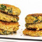 recette galette quinoa epinard healthy