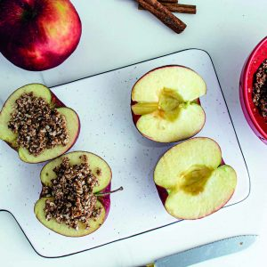 crumble pomme healthy