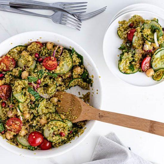 recette taboulé quinoa healthy