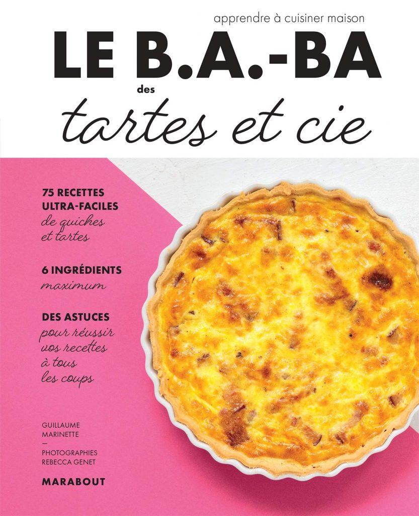couverture livre le B.A.-ba des tartes et cie