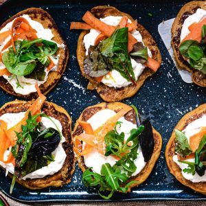 recette blinis healthy patate douce